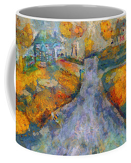 Memories Of Home In Autumn Coffee Mug