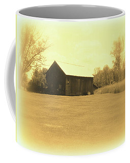 Memories Of Long Ago - Barn Coffee Mug by Susan Lafleur