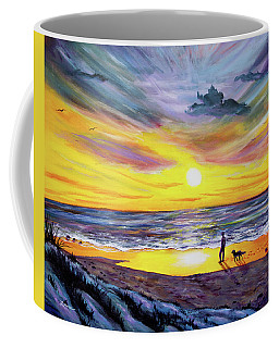 Memories Of My Father Coffee Mug by Laura Iverson