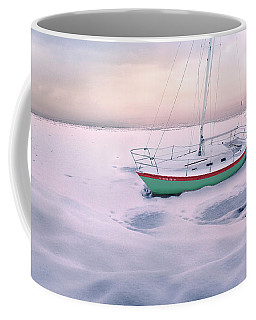 Coffee Mug featuring the photograph Memories Of Seasons Past - Prisoner Of Ice by John Poon