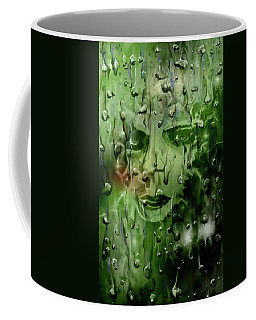 Coffee Mug featuring the digital art Memory In The Rain by Darren Cannell