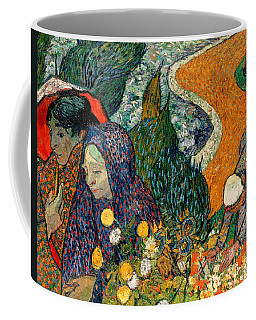 Coffee Mug featuring the painting Memory Of The Garden At Etten by Van Gogh