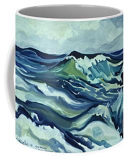Memory Of The Ocean Coffee Mug