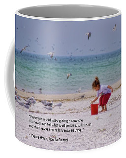 Coffee Mug featuring the photograph Memory by Peggy Hughes