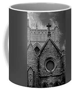 Memphis Cross In The Clouds Bw Coffee Mug