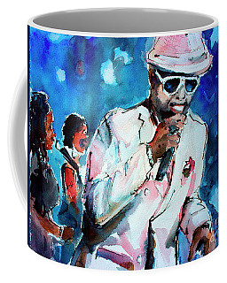 Memphis Music Legend William Bell On Stage 1 Coffee Mug