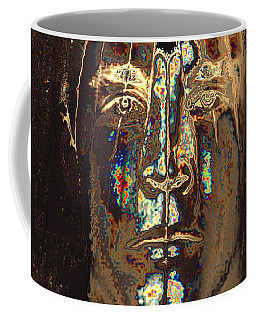 Men Are From Mars Gold Coffee Mug