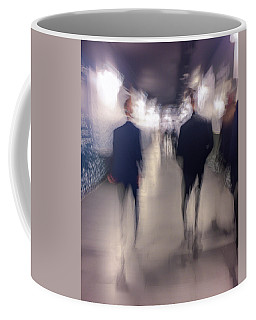 Coffee Mug featuring the photograph Men In Suits by Alex Lapidus