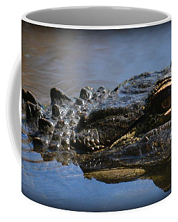 Menacing Alligator Coffee Mug