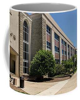 Coffee Mug featuring the photograph Mendel Hall by William Norton