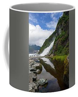 Mendenhall Waterfall Coffee Mug