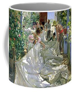 Mending The Sail Coffee Mug