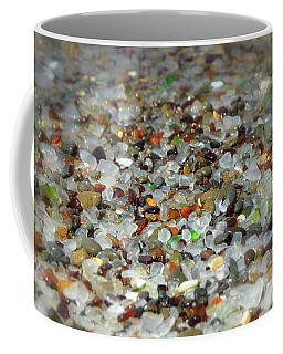 Mendocino County's Glass Beach Coffee Mug