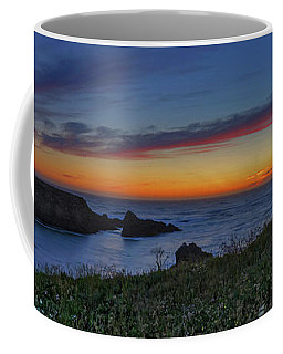Mendocino Headlands Sunset Coffee Mug