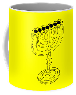 Menorah 1 Coffee Mug