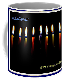 Hanukkah Candles Coffee Mug