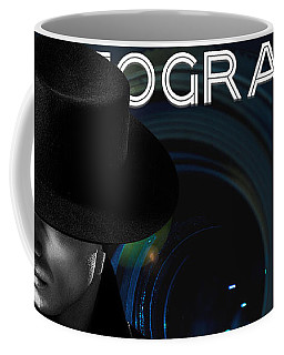 Coffee Mug featuring the digital art Mens Fashion Photography Are You Photogenic by ISAW Company