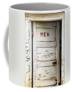 Men's Room Coffee Mug