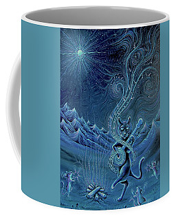 Meowtains Of The Moon Coffee Mug