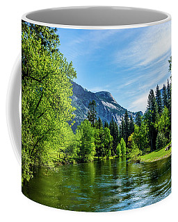 Merced River In Yosemite Valley Coffee Mug