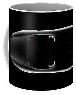 Mercedes 300 Sl Roadster - Top View Coffee Mug