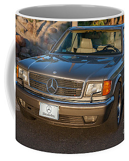 Coffee Mug featuring the photograph Mercedes 560sec W126 by Gunter Nezhoda
