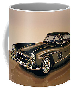 Mercedes Benz 300 Sl 1954 Painting Coffee Mug