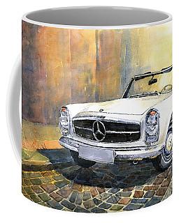 Mercedes Benz W113 280 Sl Pagoda Front Coffee Mug