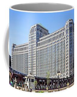 Merchandise Mart Overlooking The L Coffee Mug