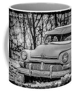 Coffee Mug featuring the photograph Mercury In The Snow by Ray Congrove