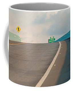 Merge To The Clouds Coffee Mug