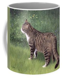 Merlin Portrait Coffee Mug by Rachel Stribbling