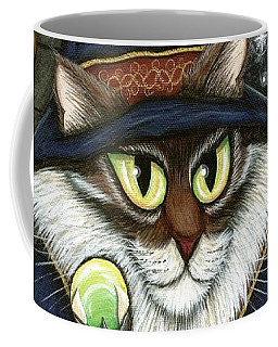 Merlin The Magician Cat Coffee Mug