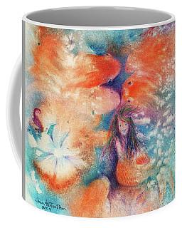 Mermaid And Kissing Koi Coffee Mug