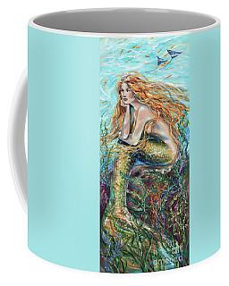 Mermaid Contemplating Coffee Mug