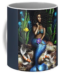 Yemaya Mermaid  Coffee Mug