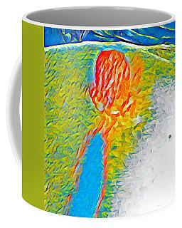 Mermaid Dives In Coffee Mug