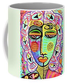 -sold- Mermaid Fish Woman Coffee Mug