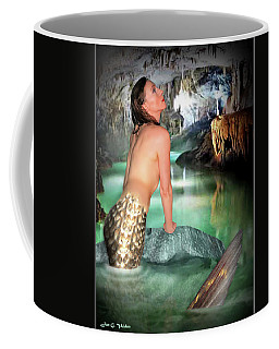Mermaid In A Cave Coffee Mug