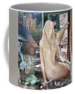 Mermaid Pondering Coffee Mug