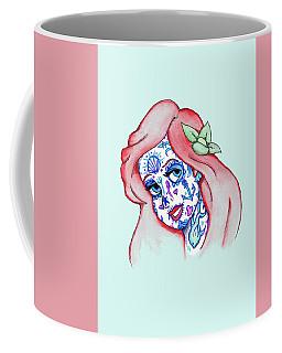 Mermaid Sugar Skull Coffee Mug
