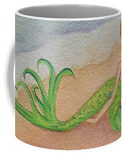 Mermaid Sunset Coffee Mug by Angela Murray