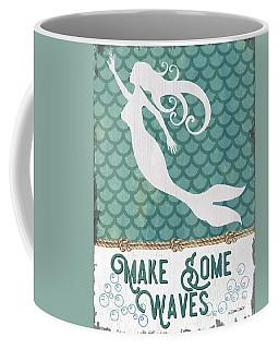Mermaid Waves 1 Coffee Mug