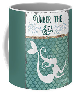 Mermaid Waves 2 Coffee Mug