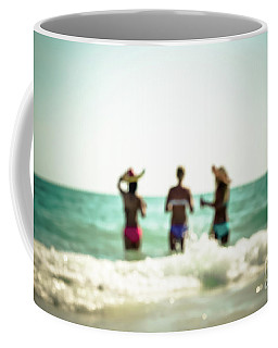Coffee Mug featuring the photograph Mermaids by Hannes Cmarits