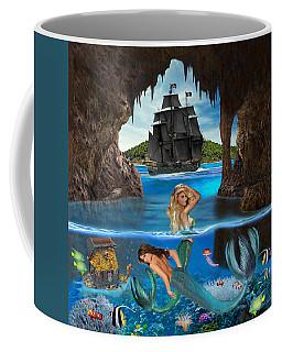 Mermaid's Pirate Cave Coffee Mug