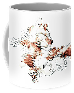 Merph Chillin' - Pet Portrait Coffee Mug