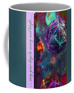 Merry And Bright Holidays Coffee Mug