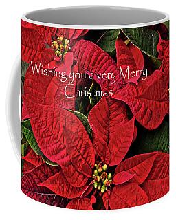 Coffee Mug featuring the photograph Merry Christmas by Ann Bridges