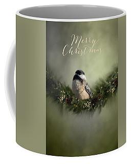 Merry Christmas Chicadee 1 Coffee Mug